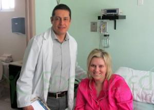 Dr. Salvador Ramirez with Patient